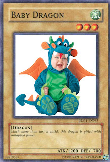 Card Parody: Baby Dragon