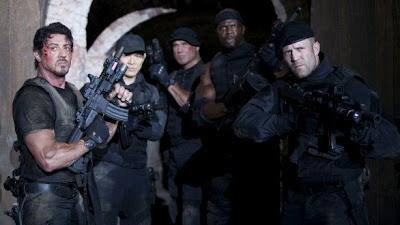 Los mercenarios 2, con Sylvester Stallone