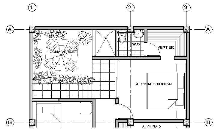 Informaci n necesaria para un dise o estructural for Ejes arquitectonicos
