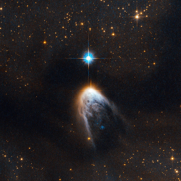 Young Star IRAS 14568-6304