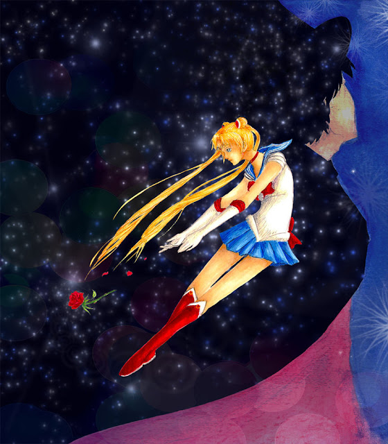 Sailor Moon por Jiewa