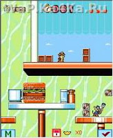 Chip n Dale Rescue Rangens 240x320 ScreenShot
