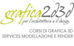 Grafica 2d3d - Corsi Vray 3d Studio Sketchup Autocad Archicad  Napoli