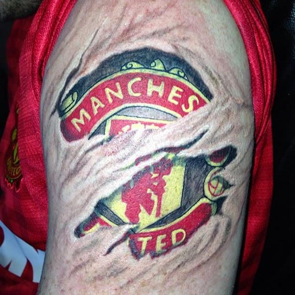 gambar gambar tatto mancester united