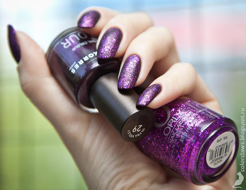 Korres #29 Ultraviolet + Orly Ultraviolet