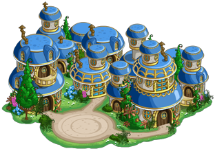 Farmville Emerald Valley Farm: Munchkin Country Buildable Information