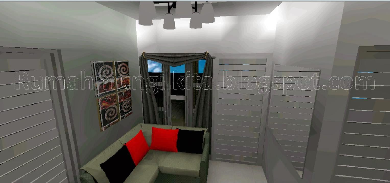 kumpulan desain ruang tamu mungil rumah mungil kita