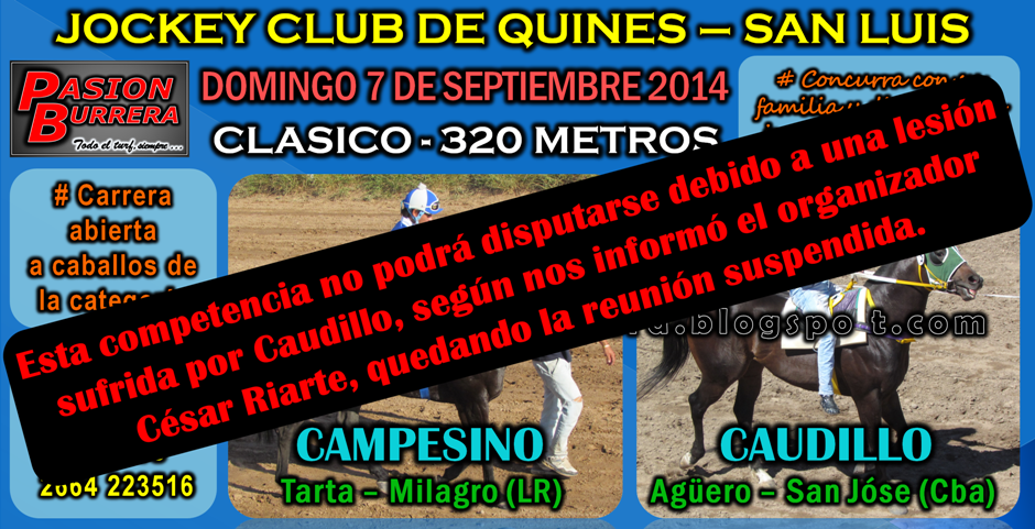 QUINES - 7 DE SEPTIEMBRE