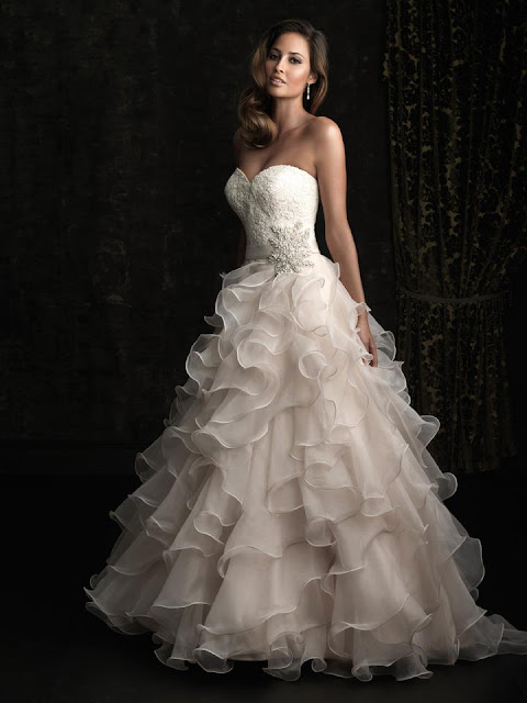 Allure Bridals Fall 2012 Collection