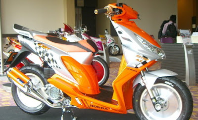 Beat+Modifikasi Kumpulan Foto Modifikasi Motor Honda Beat Terbaru 2013
