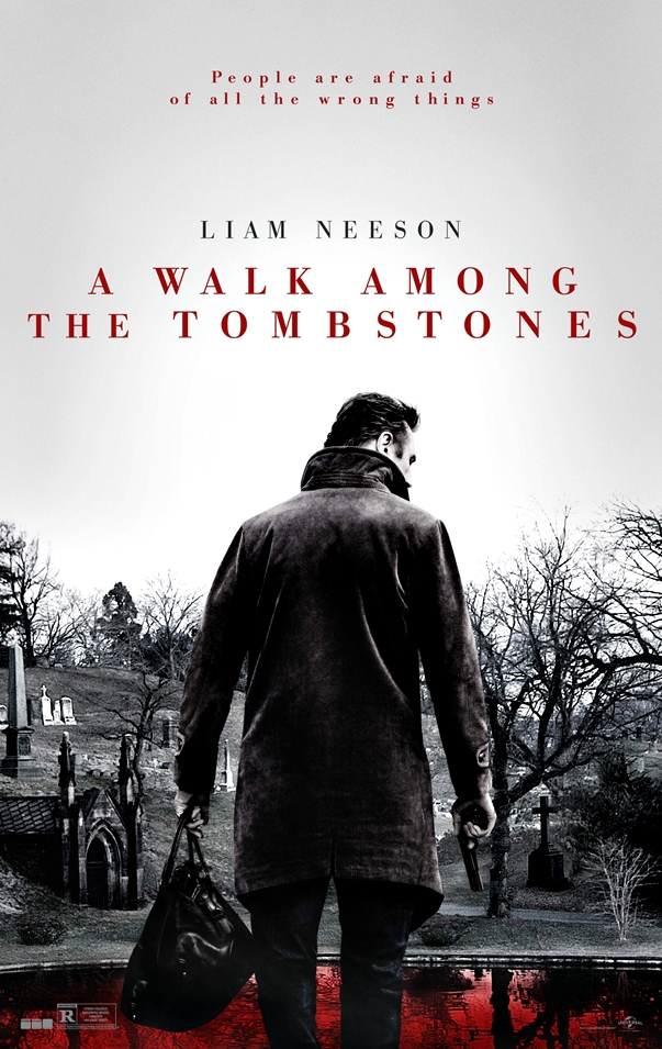 Póster americano de Caminando entre las tumbas