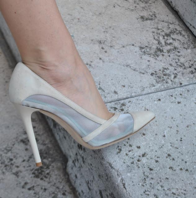 decollete in camoscio danilo di lea scarpe in camoscio e rete scarpe eleganti danilo di lea scarpe made in italy danilo di lea shoes italian shoes fashion bloggers italy fashion blogger italiane mariafelicia magno fashion blogger milano