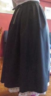 falda traje de pixueta