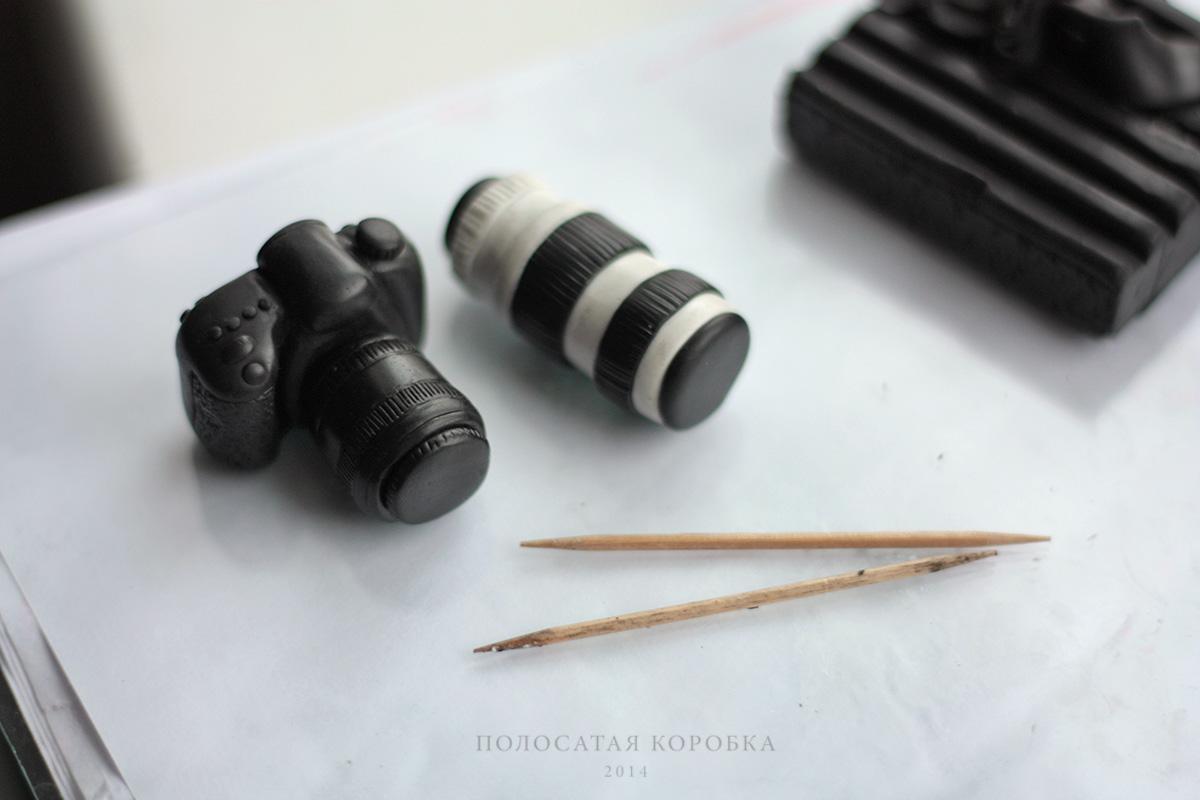 Миниатюрный фотоаппарат и объектив