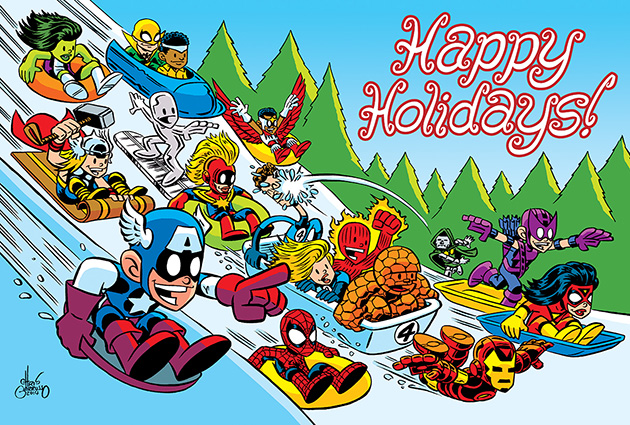 Bloody Pit Of Rod A Marvel Comics Merry Christmas