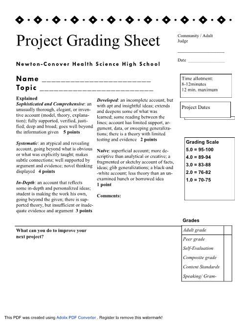 brochure rubric template - rubrics for grading blogs driverlayer search engine
