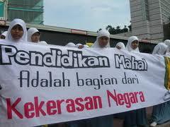 Pendidikan adalah hak seluruh rakyat Indonesia