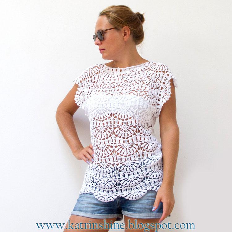 Free Crochet Patterns For Tunic Tops : Katrinshine: Crochet tunic