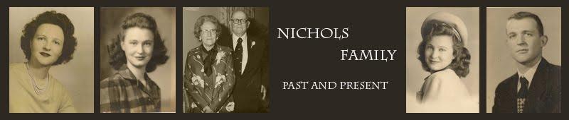 Nichols Family Website
