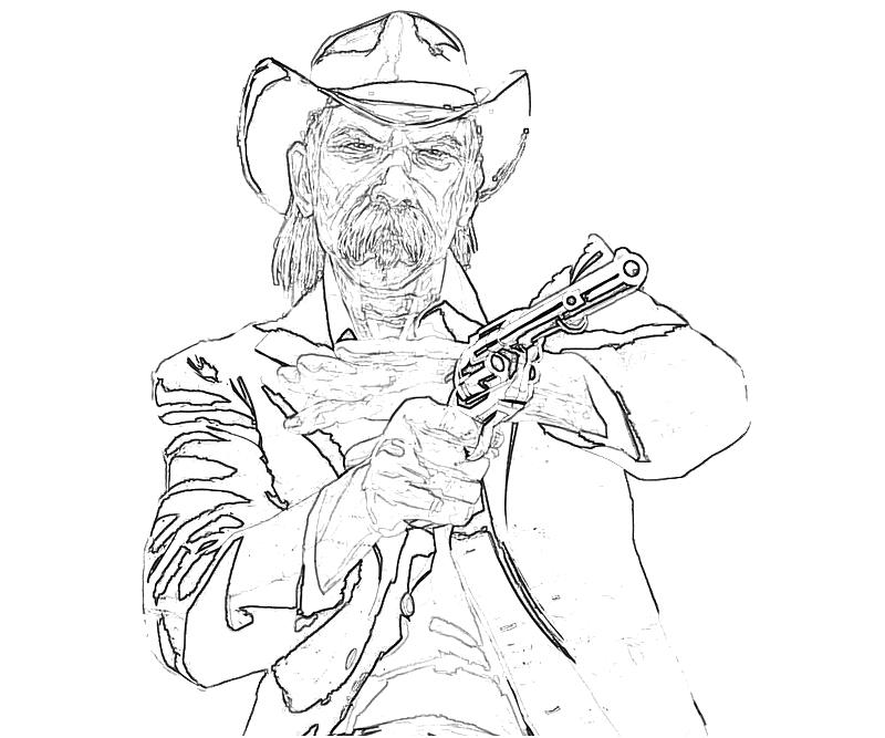 printable-10-red-dead-redemption-character_coloring-pages