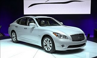 Infiniti Hybrid Priced at $54,575