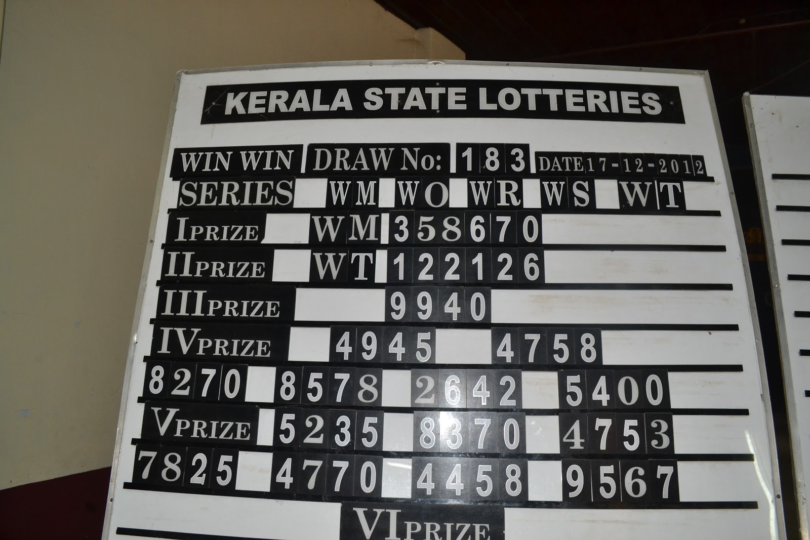 kerala state lotteries Kerala state lotteries - indian lottery the leading provider of india lottery games - kerala lotteries - was established on september 1st 1967 with the dual aims of raising funds to further develop the state of kerala and at.