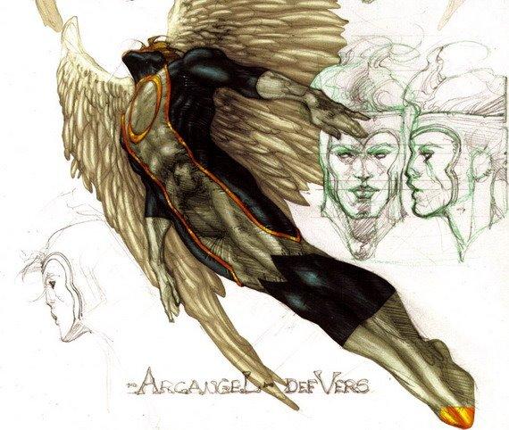 Angel por Simone Bianchi