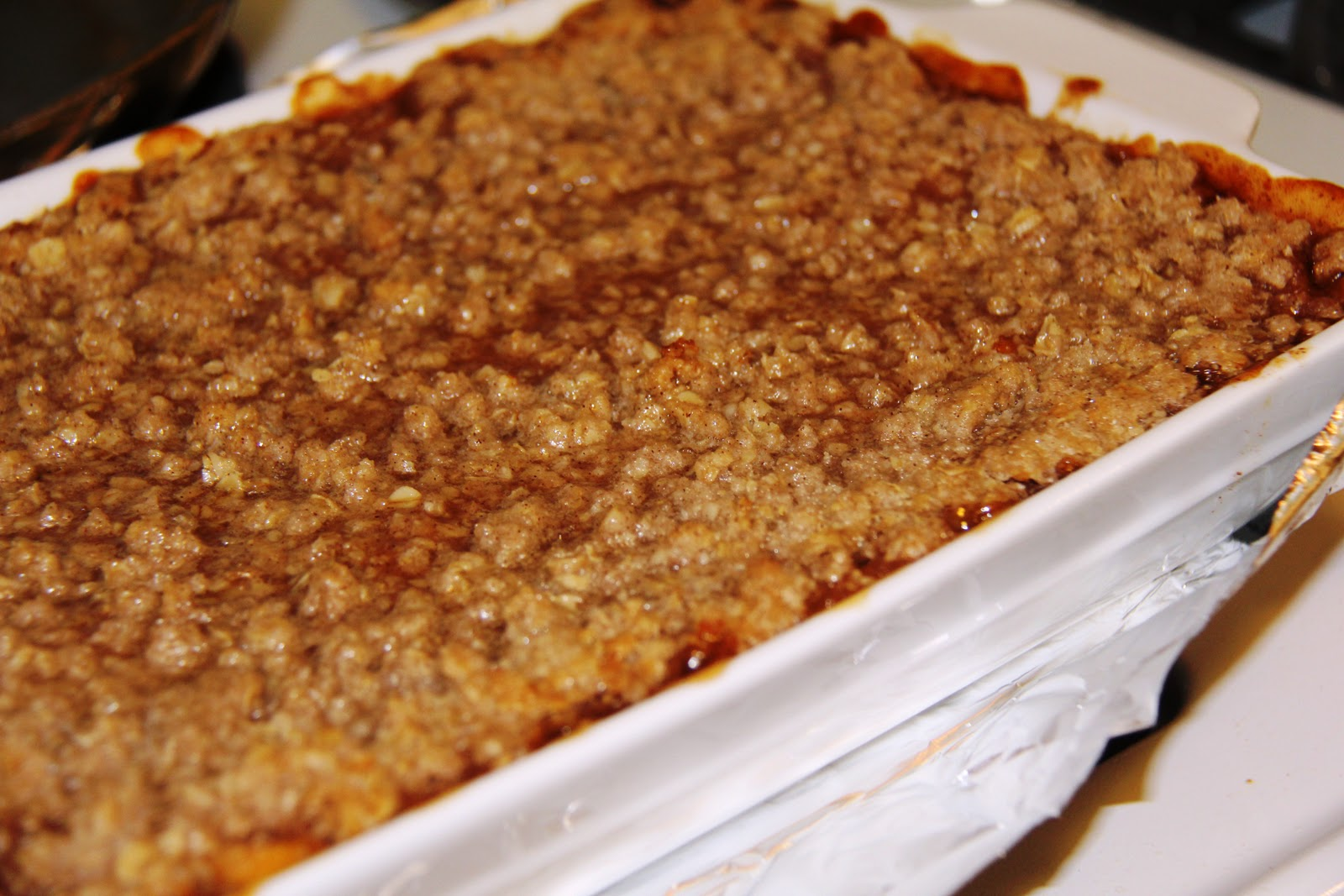 ... in Cleveland: Mrs. H's Famous Peach Crisp | Recipe | Peach Cobbler
