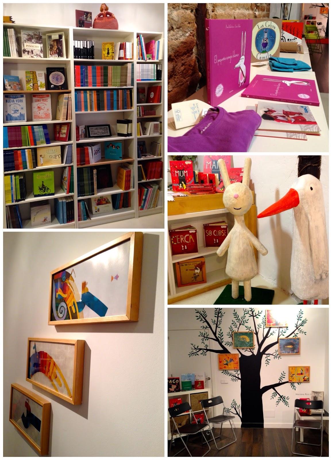 Bibliotecas para niños Madrid - Kalandraka