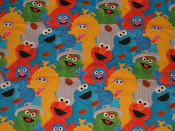Brand NEW Sesame Street Fabric