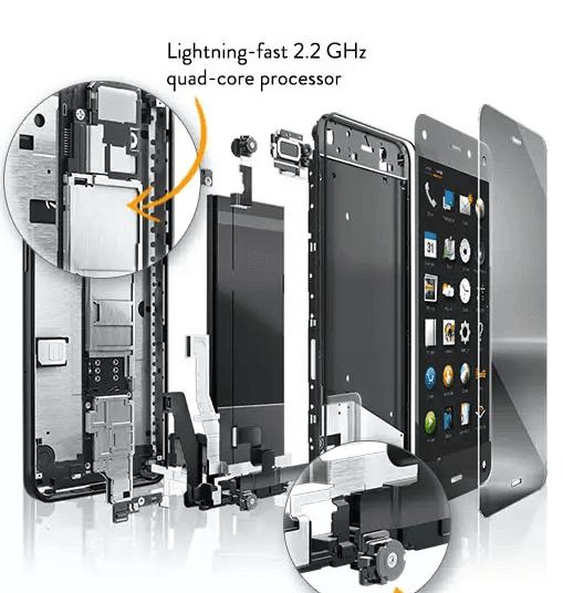 Amazon Fire Phone teknik