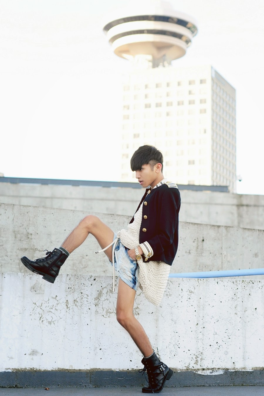 pose lookbook M'c Kenneth Licon