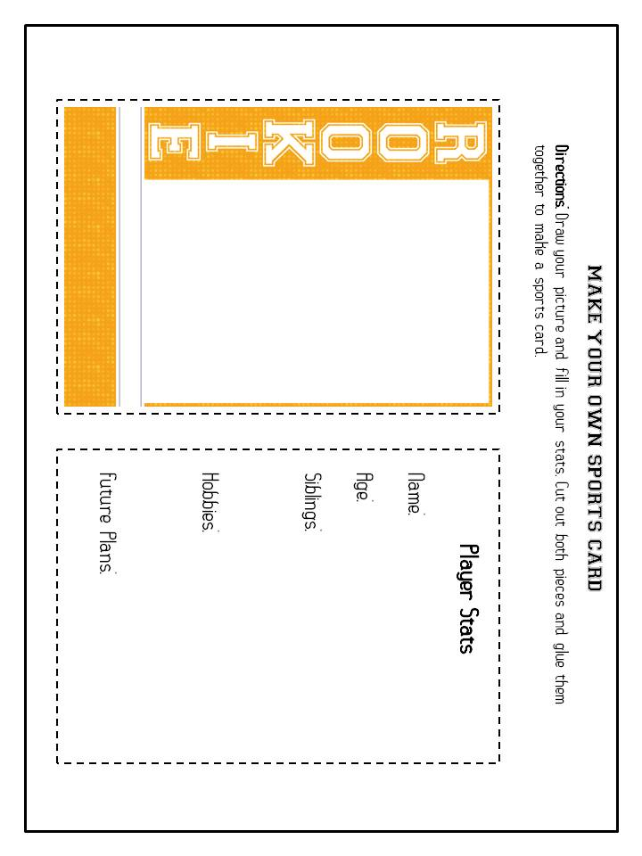 baseball card size template - diary of a not so wimpy teacher may 2013