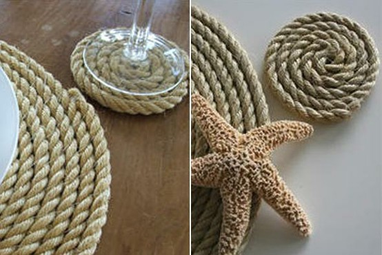 Coastal Crafting with Rope