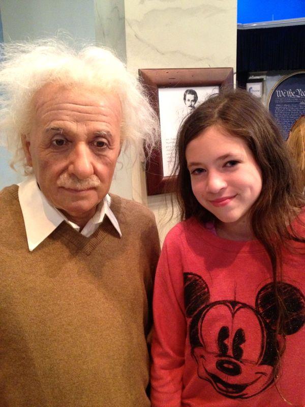 NowThisLife.com - Madame Tussauds - New York - Einstein