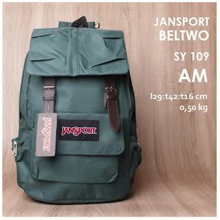 Tas Ransel Jansport KW Bahan Kanvas Seri Warna Terbaru pastel - Beltwo SY 109