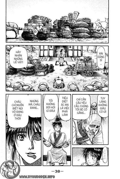 Chú Bé Rồng - Ryuuroden chap 92 - Trang 39