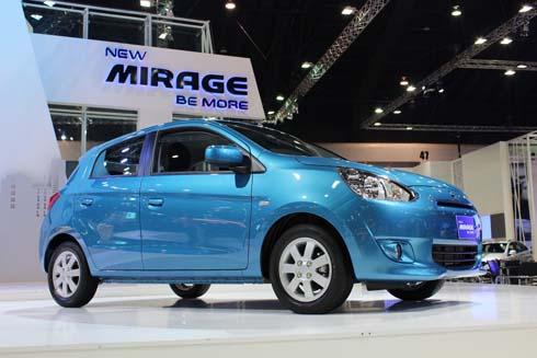 New Mobil mirage mitsubishi