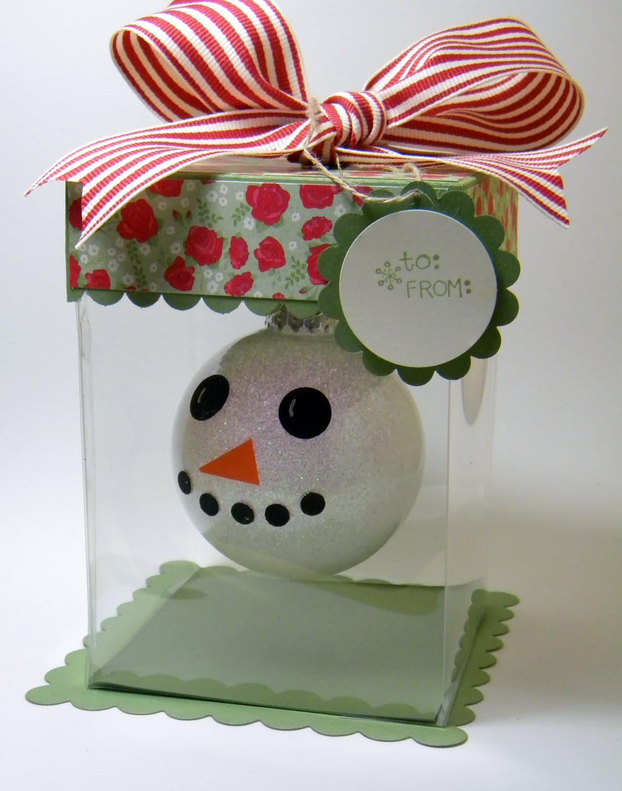 My little craft ornament gift box