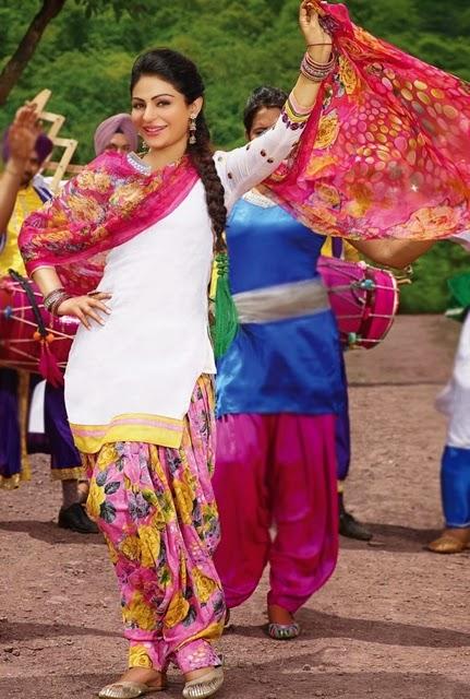 Indian fashion trend indian ethnic wear online indian clothing - Punjabi Salwar Kameez Suits 2014 15 Cotton Made Punjabi