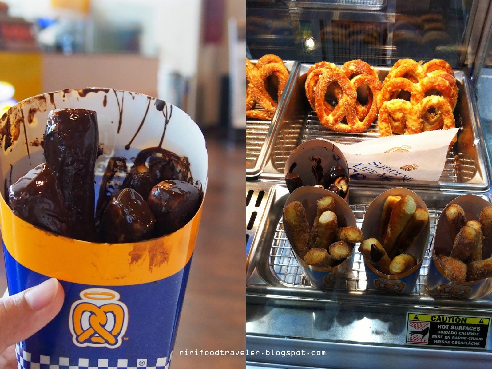 Riri Food Traveler Bakery Auntie Annes Pretzel Perfect