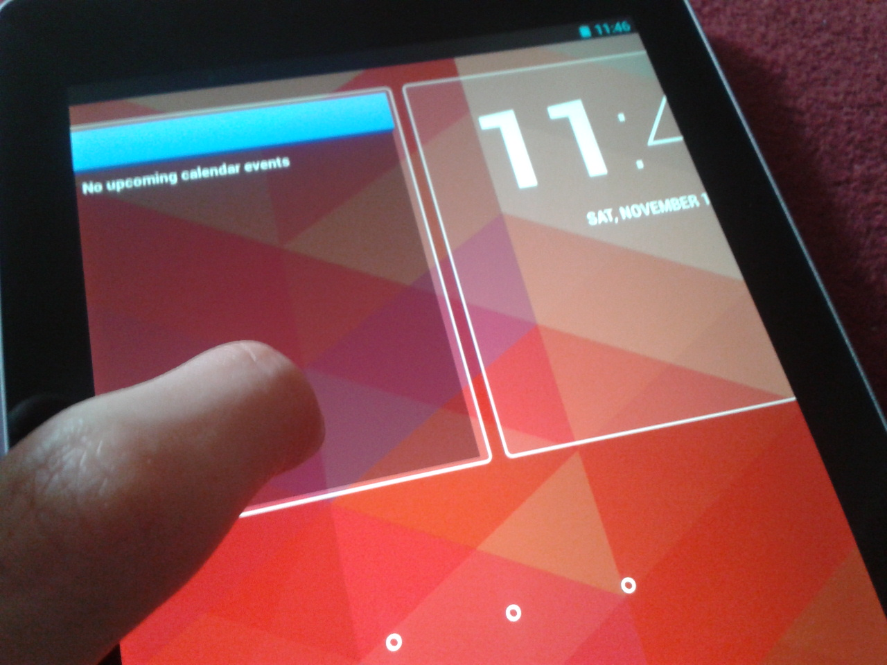 Lock screen widgets Android 4.2