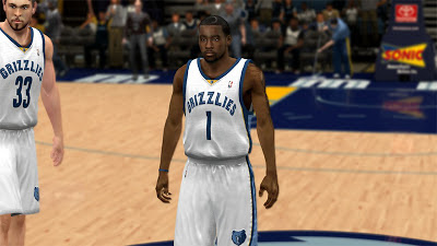 NBA 2K13 Tony Wroten Grizzlies Finals Update