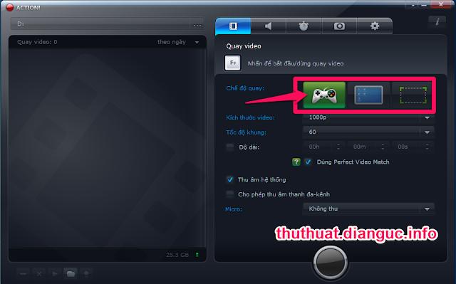 Download Action 1.9.2 Full crack - Quay phim màn hình chuyên nghiệp