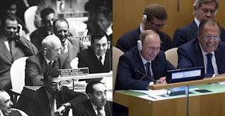 Сотканная из цинизма, наглости и лжи речь Путина на 70 сессии Генеральной ассамблеи ООН породила во мне каскад мыслей о тщете лжи.