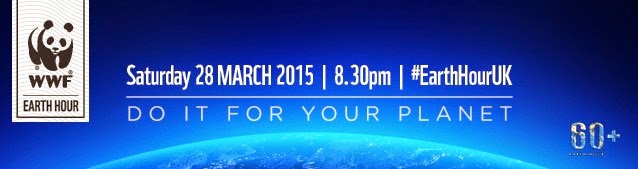 Earth Hour 28th Marh 8.30 pm