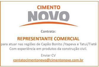 CIMENTO NOVO DISTRIBUIDORA DE CIMENTO