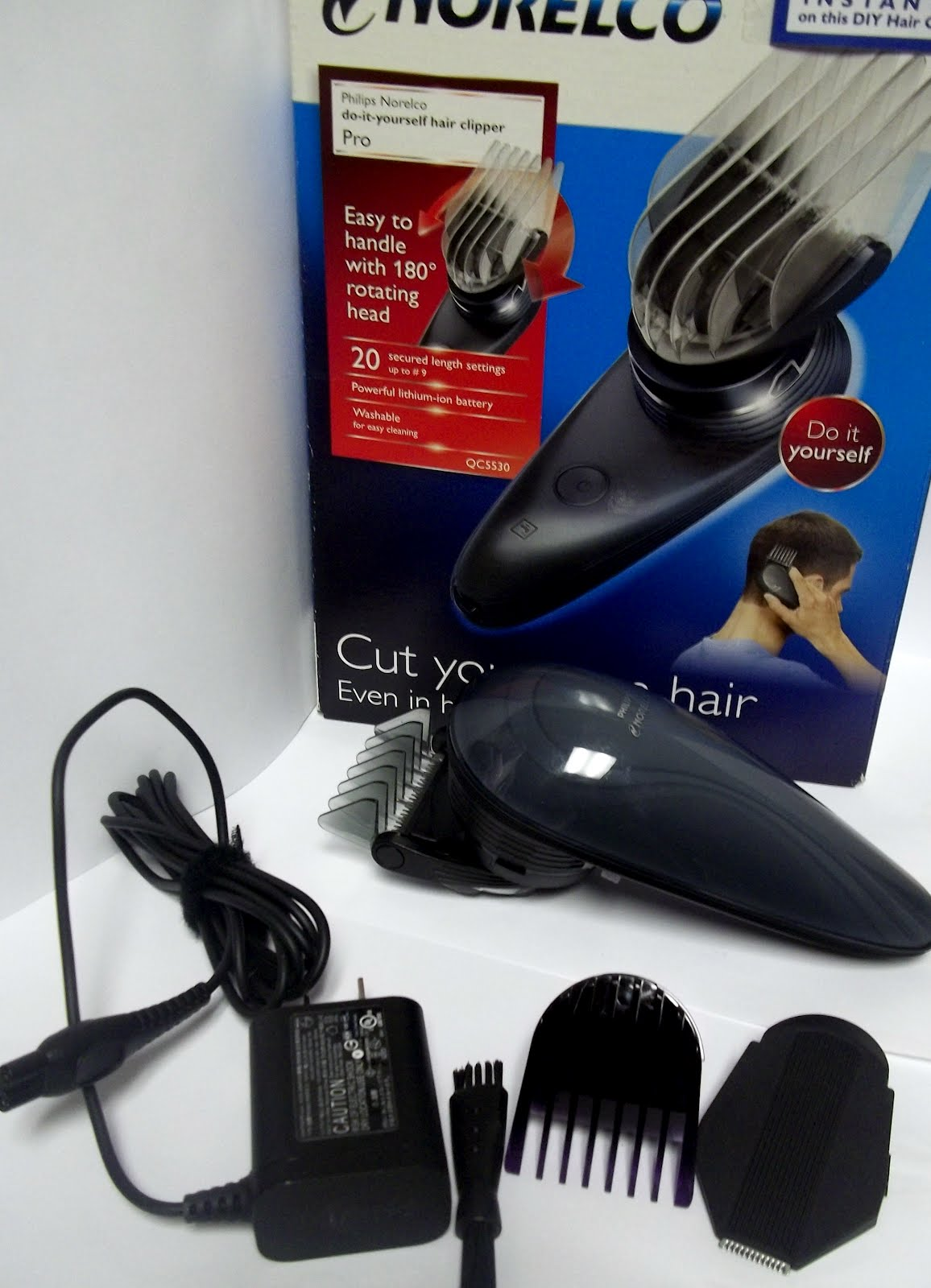 Moms gone bronson philips norelco do it yourself hair clipper as a mother and wife living in a household with boys who seldom like to have their hair cut it has never been a top priority for us to buy clippers to solutioingenieria Choice Image