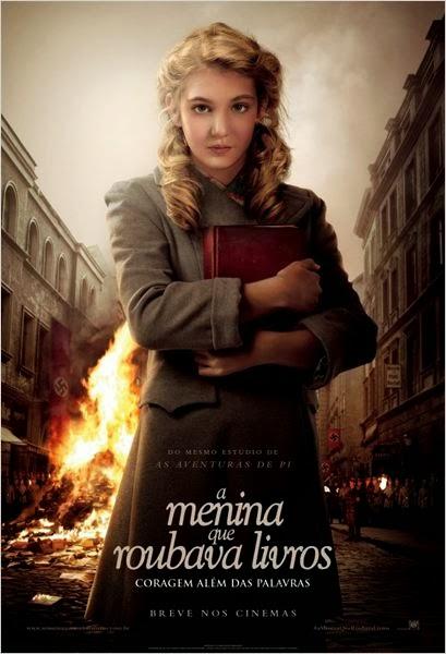 """Poster do filme """"A Menina Que Roubava Livros"""""""