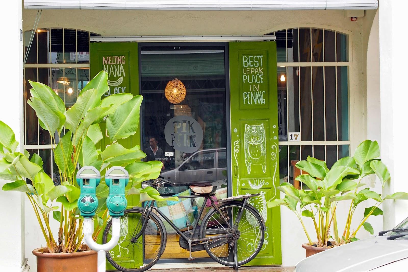 Penang 2013 Pik Nik Cafe At Jalan Nagore